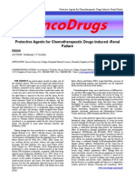 Protective Agents for Chemotherapeutic Drugs Induced -Renal Failure