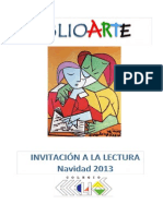 Invitación a la lectura Navidad 2013