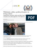Wikileaks Cables,Political Leaders in Living Colour