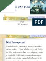 Diet Pre Dan Post Operasi