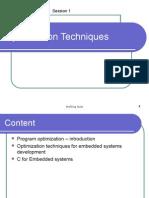 C-Programming-Optimization Techniques Class 01