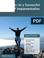 11 Steps to Successful Erp Implementation