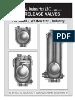 Air Release Valves Details