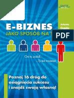 E-biznes jako sposób na sukces - Jolanta Gajda full