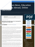 Fresh Airlines News, Education News, Study Abroad, Online Education