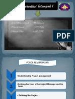 presentasi Manajemen proyek