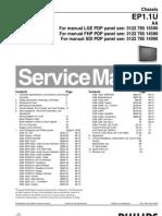 PHILIPS Chassis EP1.1U AA Service Manual