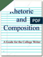 Rhetoric and Composition1