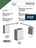 Manual Caldera Roca SARA 24-24F