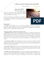 Prise en charge des effets cutanés induits par les anti-EGFR - le cancer.fr - l'info indispensable, le soutien nécessaire