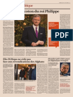 La langue de coton du roi Philippe, L'Echo, 26 décembre 2013