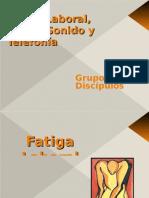 Fatiga Laboral, Ruido y Telefonia