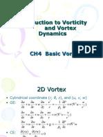 Ch4 Basic Vortex Dynamics