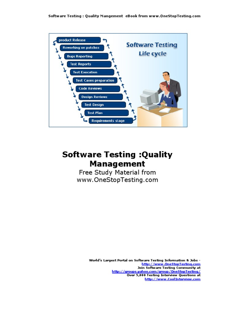 Quality management ebook quality assurance software testing fandeluxe Image collections