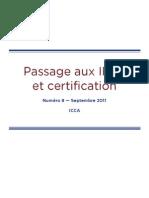Passage Aux IFRS Et Certification
