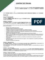 Contrat Detravail Ramtha Et Youssef Aouaj