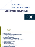 Cours Fiscalit Charges D Ductibles