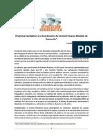 Programa Rosa Gallardo