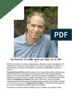 2005 La Singularidad Esta Cerca Ray Kurzweil