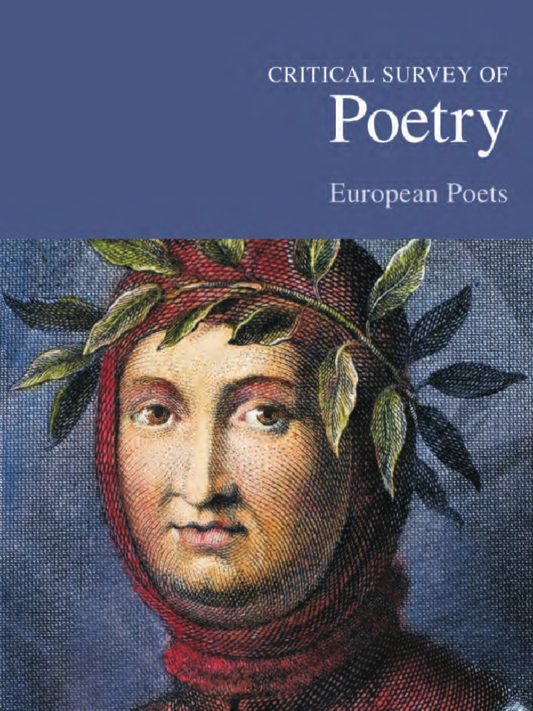 Critical survey of poetry european poets fandeluxe Choice Image