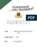 75872767 Folio Chemistry Chapter 9