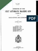 Colt Automatic Machine Gun 1916