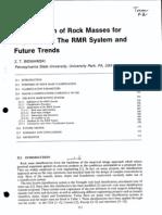 RMR - Comprehensive Rock Engineering(1)
