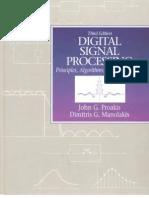 Digital Signal Processing - Principles, Algorithms & Applications by Proakis & Manolakis