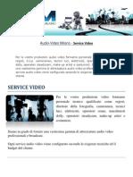 Audio-Video Milano - Service Video
