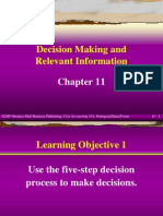 Decision Making and Relevant Information_ch11