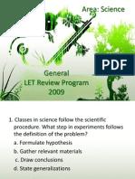 General Let Review Program 2009_ajd