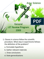General Let Review Program 2009_ajd