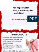 Askep Gangguan Saluran Pernapasan (Infeksi)