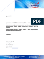 Brochure Comercial
