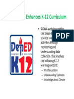 SIGWA K12 Curriculum on Climate