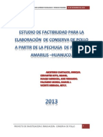 Impresion Del Informe de Conserva - Plider