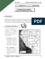 III BIM - HP - 5TO AÑO - Guia 5 - Primer Militarismo