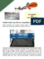 Tablet Feito Em Campina Grande Se Consolida No Nordeste