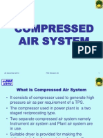 Compressed Air System in Thermal Power Plant