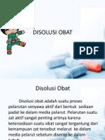 DISOLUSI OBAT