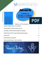AWAEM Awareness Newsletter Oct-Dec 2013