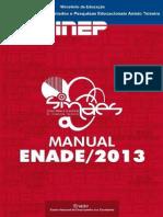 14 Manual Enade 2013