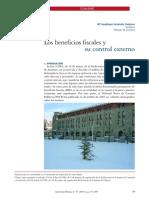FERNÁNDEZ ESPINOSA, Maria Guadalupe. Los benefícios fiscales y su control externo.