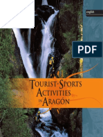 Tourism and sports activities in Aragón