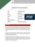 Analisis y Diseno de Estructura Con Sap 2000