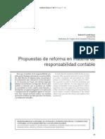 CORTELL GINER, Robert P. Propuestas de Reforma en Materia de Responsabilidad Contable.