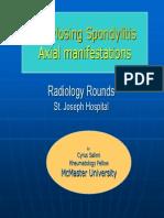 Axial Changes Ankylosing Spondylitis Mar2007