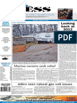 2013 Front Pages | Tennessee Valley Authority | Payroll