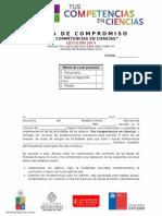 Carta de Compromiso - Tus Competencias en Ciencias 2014 - Programa Explora Conicyt