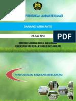 Tata Cara Perhitungan Jaminan Reklamasi (Final)-Danang
